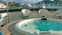Yacht ATLANTICA -  Sundeck Spa Pool